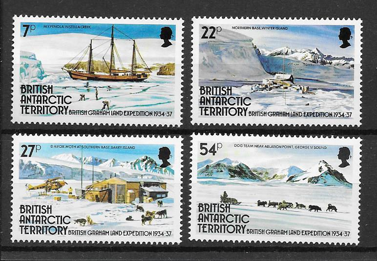 Grahamland Expedition Stamps