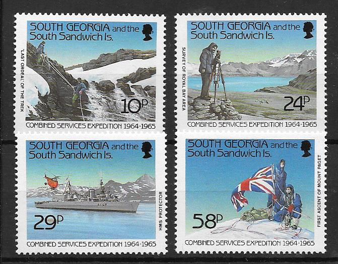 Combined Services Expedition 1964 - 1965 Stamps