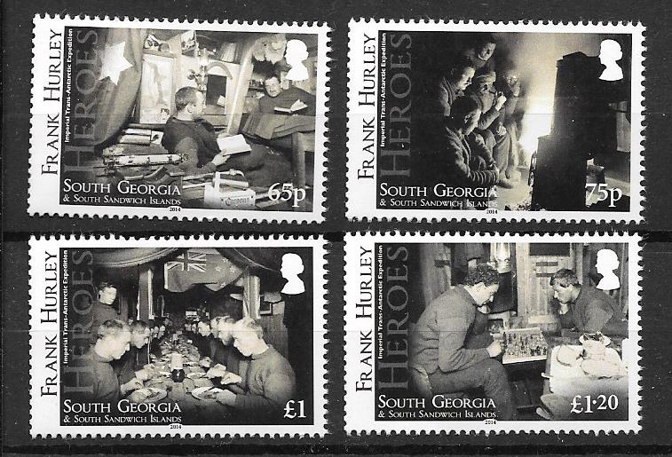 Frank Hurley Stamps