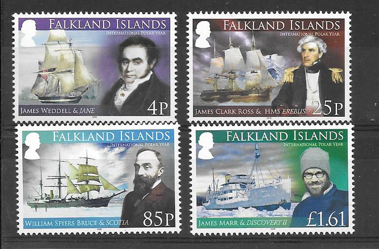 Polar Explorers Stamps 2008