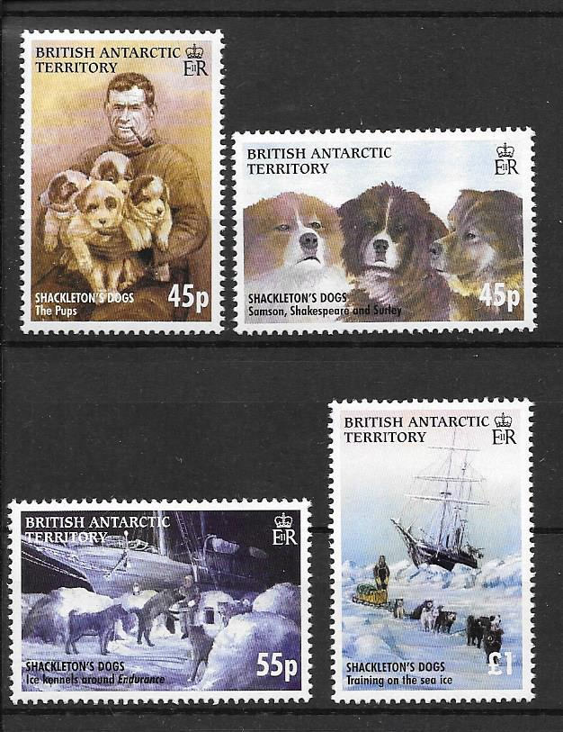 Shackleton's Dogs 2005 Stamps