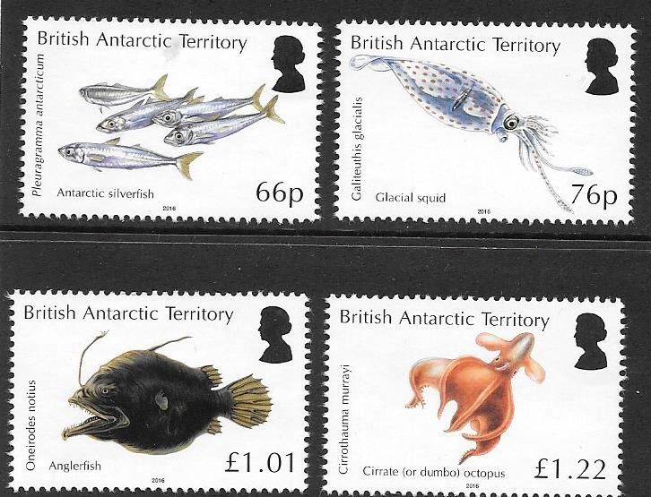 BAT stamps Antarctic Ocean Zones
