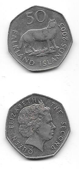 2003 Fifty Pence